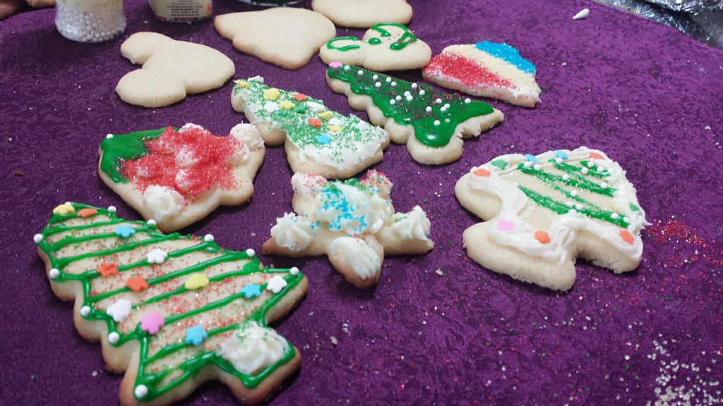 圣诞手绘小饼干的做法 !