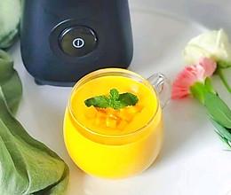 #换着花样吃早餐#芒果燕麦奶昔~早餐来一份是极好的的做法