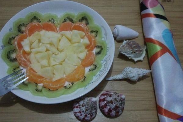 2.14情人节爱心水果拼盘的做法