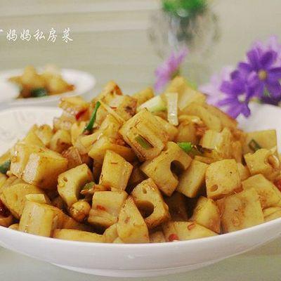 【宫保藕丁】——很美好的下饭菜