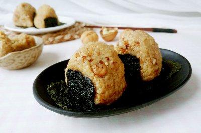 调味海苔核桃饭