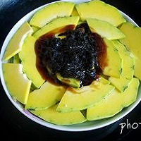 榄菜蒸南瓜的做法图解6