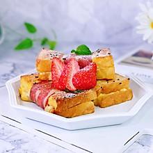 #换着花样吃早餐#培根肉松三明治