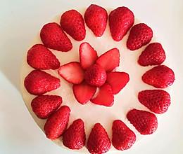 草莓水果蛋糕(附戚风蛋糕详细做法)