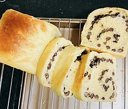 红豆吐司面包的做法