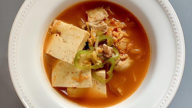 韩式泡菜汤 的做法