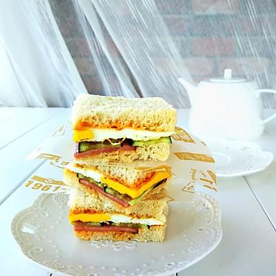 快手早餐三明治