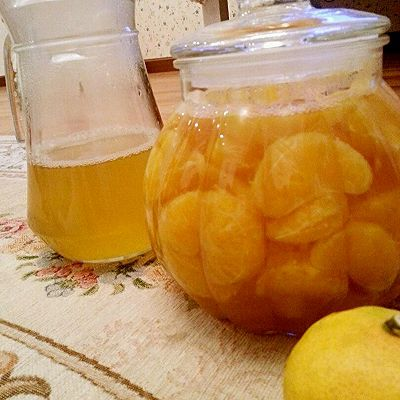 秋季必做!橘子罐头