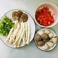 牛肉丸番茄小火锅的做法图解1