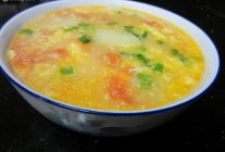 西红柿土豆鸡蛋汤的做法