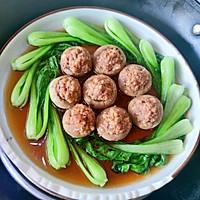 #仙女们的私藏鲜法大PK#口蘑酿肉丸的做法图解8