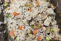 荷叶糯米鸡饭的做法