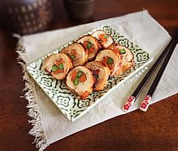 彩蔬鸡肉卷-减肥也可以吃肉哦的做法