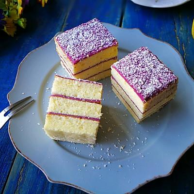 山药紫薯蛋糕