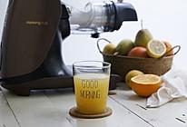 橙梨原汁的做法