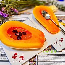 #百变水果花样吃#木瓜炖银耳