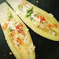 蒜沫香煎茄子的做法图解4