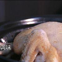 无水葱油鸡的做法图解7