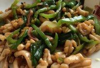 白玉翠柳条(清炒墨鱼卷儿~)的做法