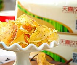 低热量椒盐薯片的做法