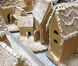 圣诞屋姜饼屋的做法