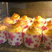 【咸味烘焙】培根芝士面包杯#百吉福创意芝士早餐#