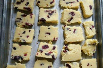 手工低糖蔓越莓饼干