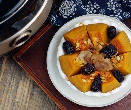 百合红枣蒸南瓜的做法