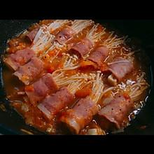 金针菇培根卷——记得多煮点米饭