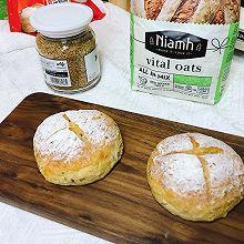 #Niamh一步搞定懒人面包#活力燕麦欧包