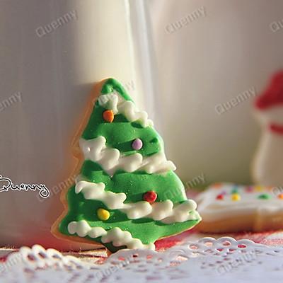 【圣诞树糖霜饼干】