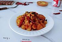 辣辣可乐酱土豆的做法