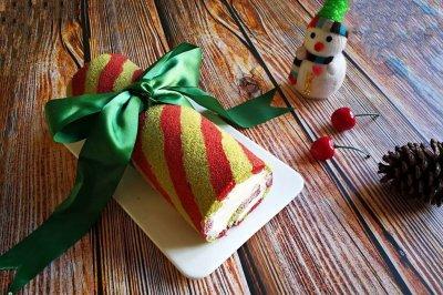 浓浓圣诞气息的—蛋糕卷