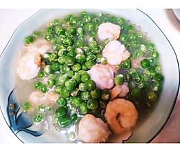 虾仁炒豌豆的做法