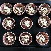 #爱好组-低筋#巧克力杏仁马芬的做法图解9
