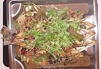豆豉香烤鱼的做法