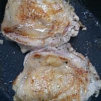 酱汁浓郁黑椒照烧鸡腿饭的做法图解5