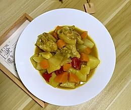 厨房小白必备—万能的咖喱鸡的做法