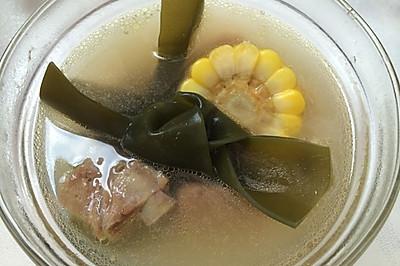 【夏季养生】排骨海带玉米汤