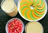 #爱的暖胃季-美的智能破壁料理机#香浓玉米汁+彩色煎饼的做法