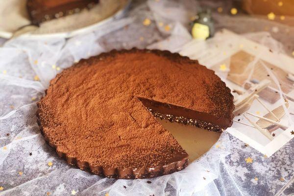 健康甜品-可可挞的做法