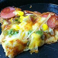 披萨饼坯的做法图解6
