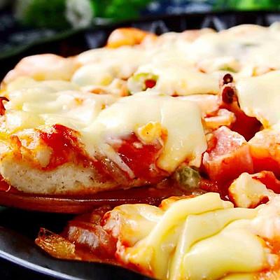 海鲜披萨——利仁电火锅试用菜谱