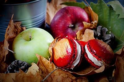 秋意浓·法式苹果派马卡龙#马卡龙·奶油蛋糕看过来#