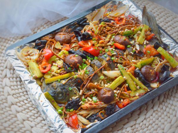 家常火锅味烤鱼的做法