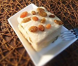 葡萄干燕麦发糕#营养早餐#的做法