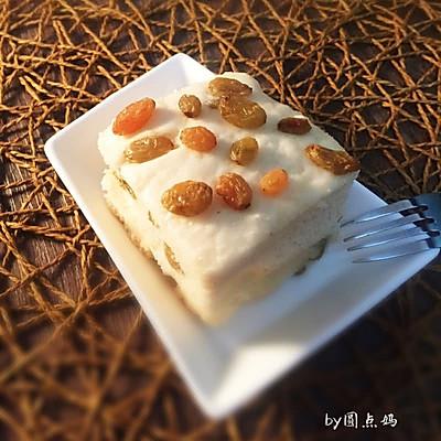 葡萄干燕麦发糕