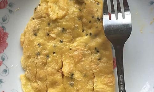糯米粉鸡蛋饼的做法