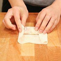 韭黄肉春卷-迷迭香的做法图解6