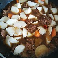 白萝卜炖牛肉的做法图解8